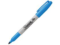 Märkpenna Sharpie Fine ljusblå 12st/fp