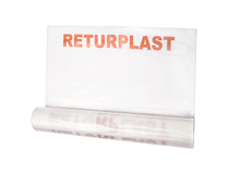 Sopsäck returplast 240l 0,05mm 10st/rl