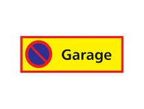 Parkeringssylt Garage 590x210mm