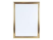 Väggram 50x70 cm guld