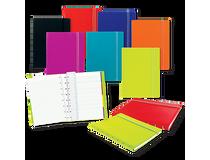 Filofax Notebook A5 linjerat röd