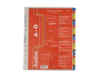 Pärmregister plast Keba A4+ A-Ö