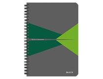 Anteckningsbok Leitz Office A5 linjerad grön 5st/fp
