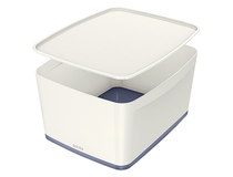 Förvaringslåda MyBox Medium vit 4st/fp