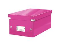 Box Leitz Click & Store DVD rosa