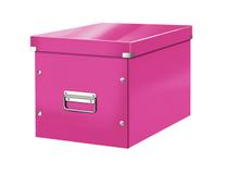 Box Leitz Click & Store Large rosa