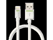 Lightning-kabel Leitz Complete 0,3m vit