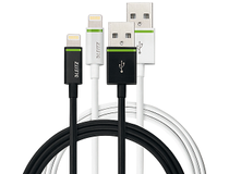 Lightning-kabel Leitz Complete 2m vit