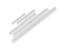 Linjal Linex transparent 50cm