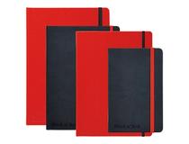 Anteckningsbok Oxford Black & Red A5 linjerat