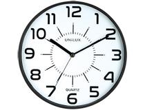 Klocka Unilux Pop Ø 28 cm svart