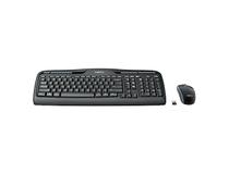 Tangentbord med mus Logitech MK330 trådlös