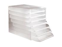 Blankettbox 7-fack transparent