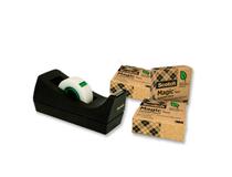 Tejphållare Scotch C38 svart inkl 3 rullar tejp