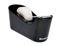 Tejphållare Scotch C18 svart inkl tejprulle
