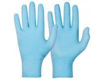 Nitrilhandske puderfri 2X-Large blå 100st/fp