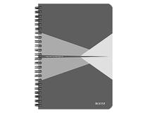 Anteckningsbok Leitz Office A5 linjerad grå 5st/fp