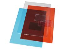 Mapp A4 PVC 0,18mm blå