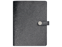 Doodle A5 Tora konstläder med slejf svart 2021