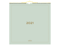 Väggkalender Color 2021