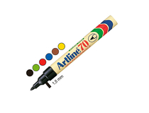 Märkpenna Artline 70 brun 12st/fp