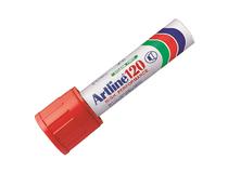 Märkpenna Artline 120 röd 6st/fp