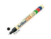Märkpenna Artline 725 svart 12st/fp