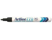 Frysmärkpenna Artline 770 svart 12st/fp