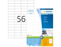 Etikett Herma Premium 52,5x21,2mm 5600st/fp