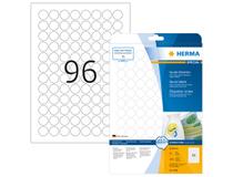 Etikett avtagbar Herma Special Ø 20mm 10x2400st/fp