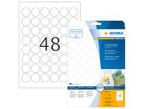 Etikett avtagbar Herma Special Ø 30mm 5x1200st/fp