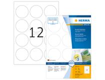 Etikett avtagbar Herma Special Ø 60mm 1200st/fp
