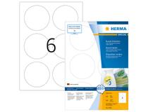 Etikett avtagbar Herma Special Ø 85mm 600st/fp
