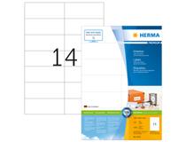 Etikett Herma Premium 105x42,3mm 1400st/fp
