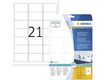 Etikett avtagbar Herma Special 63,5x38,1mm 525st/fp