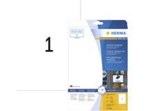 Utomhusetiketter Herma vita 210x297 A4 10x10st/fp