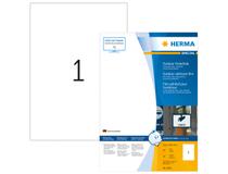 Utomhusetiketter Herma vita 210x297 A4 40st/fp