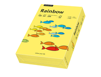 Papper Rainbow A4 120g gul 250st/paket