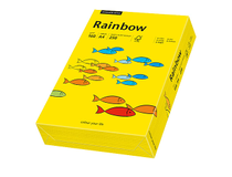 Papper Rainbow A4 160g intensivgul 250st/paket