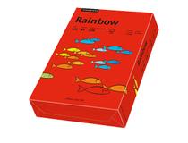 Papper Rainbow A4 160g intensivröd 250st/paket