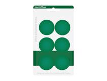 Magnet 30mm grön 6st/fp