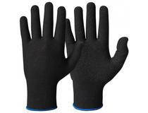 Handske Lycra svart strl. 8 10par/fp