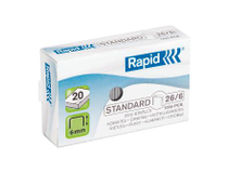 Häftklammer Rapid Standard 26/6 1000st/ask