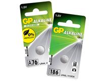 Batteri Alkaline LR43/186 10st/fp