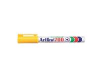 Märkpenna Artline 700 gul 12st/fp