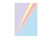 Filofax Pocket Classic anteckningsblad linjerade 30st/fp