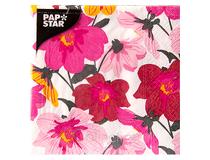 Servett 25x25 3-lag Blomster 20st/fp
