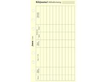 Filofax Personal Körjournal med symbol 30st/fp
