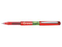 Rollerballpenna Pilot Greenball 0,7mm röd 10st/fp