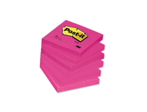 Post-it 654 76x76 neonrosa 6st/fp